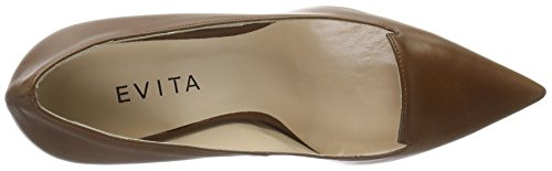 Evita Shoes Jessica, Escarpins femme Braun (Cognac 26)