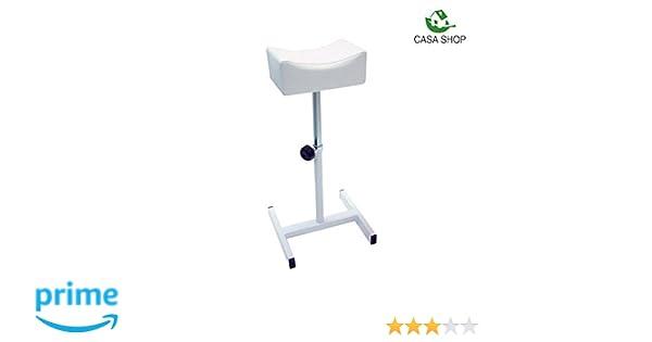 Maxi products cs sgabello di pedicure sedia con poggiapiedi per