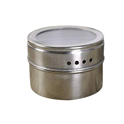 Masterein Edelstahl-Grillgewürz Topf Multifunktionale Menage Behälter Küche Aromatisierung Box Grill-Werkzeug