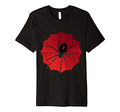 Witwe Kostüm Spider - Spider Web Halloween 2019 T-Shirt Spinnennetz schwarze Witwe