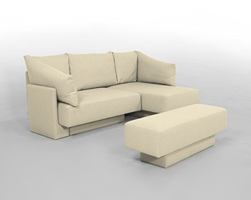 CHOICE 1 Modulsofa-Set *German Design Award Winner* bequemer 2-Sitzer, Recamiere, Gästebett...