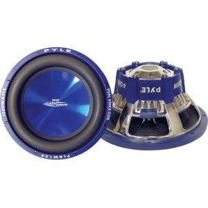 Pyle Blue Wave pl-bw84Tieftöner–600W PMPO–1Pack–4Ohm–8& # 34;–PLBW84 (600w Car-audio)