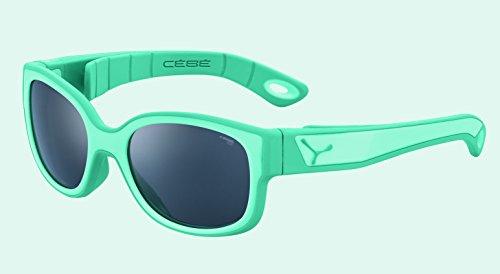 Cébé Kinder S'Pies Sonnenbrille, Matt Mint Turquoise, 3-5 anni