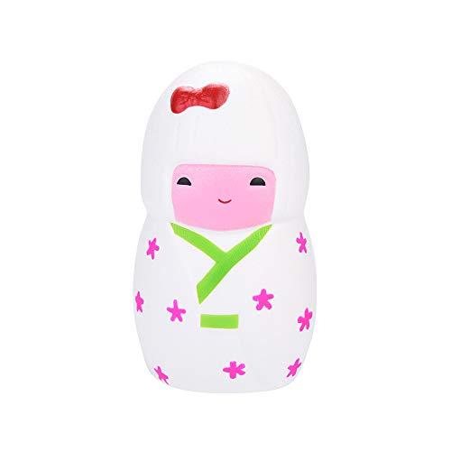 12 cm Japanisches Mädchen Squishies Spielzeug Mamum Emulation Puppe duftende Squishies langsam steigende Kinder Spielzeug Stress Relief Spielzeug Requisiten