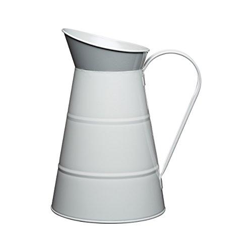 Living Nostalgia 2,3 litres Gris acier émaillé Carafe à eau