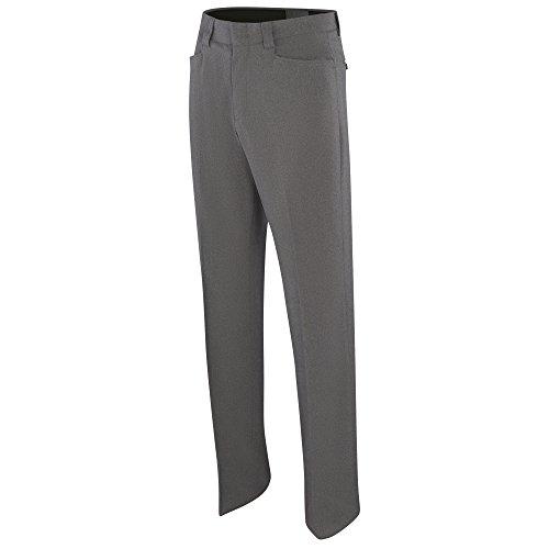 Damen Poly-spandex (Adams USA ADMBB379-18-HG Damen Umpire Combo Flat Front Poly/Spandex Uniform Hose, Heather Grey, Größe 46)