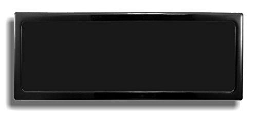 DEMCiflex Staubfilter für 420mm Radiatoren schwarz/schwarz