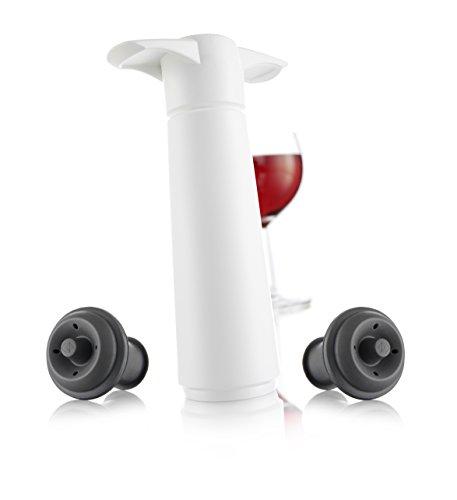 Vacu Vin 09812606 Weinpumpe weiß
