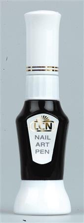 LCN Nail Art Pen - Schwarz, Inhalt 10 Ml