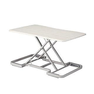Folding Table JIE AJS Stehender Büro-Laptop-Tisch | Sitzstation Alternativer Hub-Arbeitstisch | Mobiler Schreibtisch Mini-Schreibtisch Esstisch 82x55cm A+