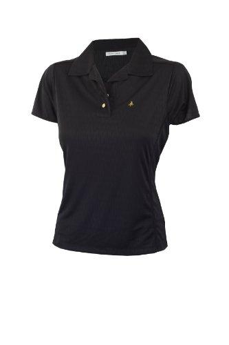 Green Lamb Jacquard T-shirt pour femme noir - Noir