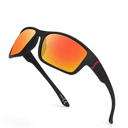 fazry Damen Herren Draussen Sportbrillen Reiten Sonnenbrillen Mode für Sport-Sonnenbrillen(A)