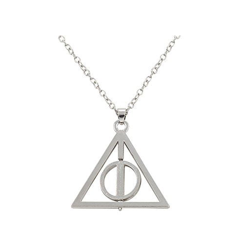 Accessorisingg Deathly Hallow Silver Pendant [PD003]