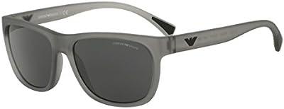 EMPORIO ARMANI Gafas de Sol Mod.4081 55328757_553287 (57 mm) Gris