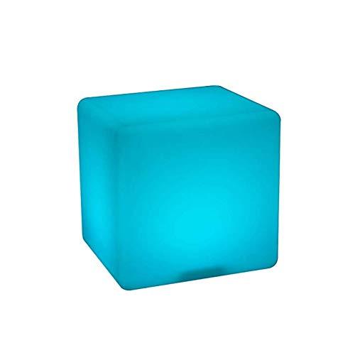 Cube Chair Tisch (Paddia LED Kinder Kugel Kugel Kugel Stehleuchte Hocker RGB Farbwechsel Wiederaufladbare Batterie Fernbedienung Licht Platz Bar Cube Hocker Klar Restaurant Tischlampe Innendekoration Nacht Party Pool)