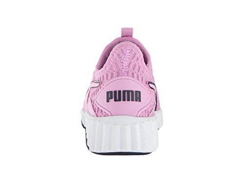 PUMA Kids Girl s Defy  Little Kid Big Kid  Orchid White Peacoat 12 5 M US Little Kid M