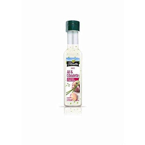 Florette Sauce ail et ciboulette 175ml - ( Prix Unitaire ) - Envoi Rapide Et Soignée