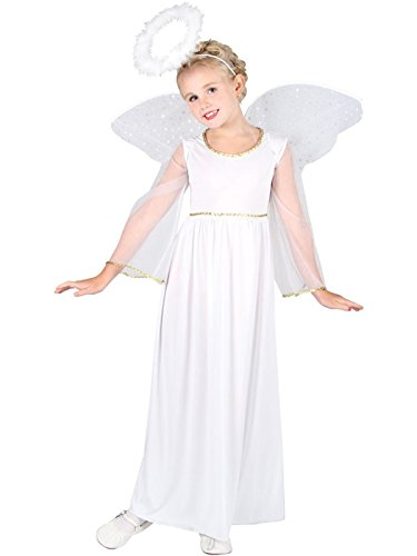 Heavenly Angel with Wings and Halo - Kids -