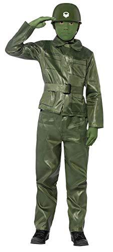 Smiffys Kinder Toy Soldier Kostüm, Oberteil, Hose, Gürtel und Helm, Größe: S, 25481