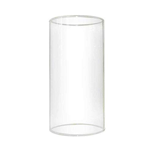 Glass Lamp Shop - Pantalla de Repuesto para lámpara Cilindro Recto, con múltiples Efectos, Vidrio...