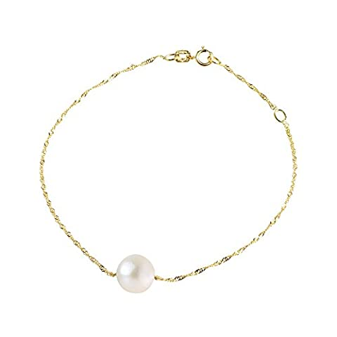 Pearls & Colors - Bracelet chaîne - Or jaune 9