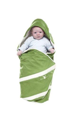 Wallaboo Babydecke Lime Green