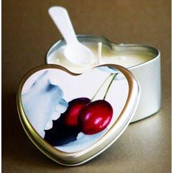 Irdischen Körper Essbare Massage Kerze Cherry (Irdischen Körper)