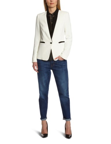 Kookai-Giacca BLAZER da donna Multicoloured - Multicolore (Off White/Noir) 46