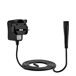 Aukru 12V Power Supply Charging for Braun Electric Shaver Razor,Beard Trimmer Series 1/3/ 5/7/ 9 for Models 390cc 760cc 790cc 790cc-4 740s 720s-4 190s Etc