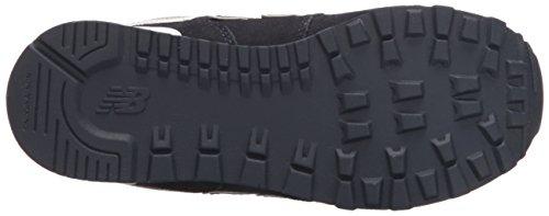 New Balance Jungen 574 Schuhe Navy With Grey & White