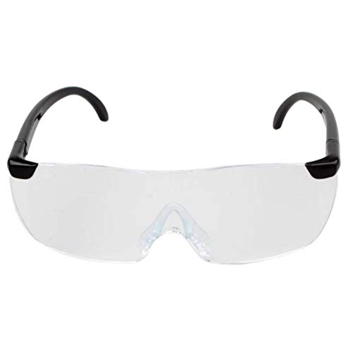 1.6X Vergrößerungslesebrille Flammenlose Brillenlupe 250-Grad-Linse