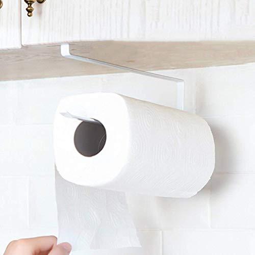 dyudyrujdtry Neu Veröffentlicht Metall Aufbewahrung Gestell Aufhänger Papier Handtuch Schrank Küche unter Schrank Rolle Halter für Heim Dekoration - Dünn Geld (Papier-handtuch-aufhänger)