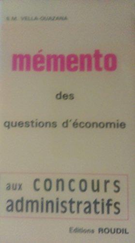 memento-des-questions-d-39-conomie-aux-concours-administratifs