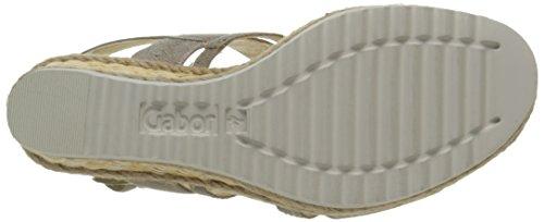 Gabor 45-791-62 Damen Sandalen Blanc Cassé (Muschel)