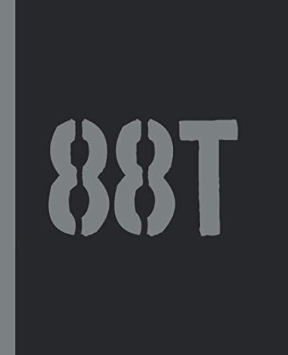 88T: A Blank Lined Composition Book for an Army RAILWAY SECTION REPAIRER (RC)