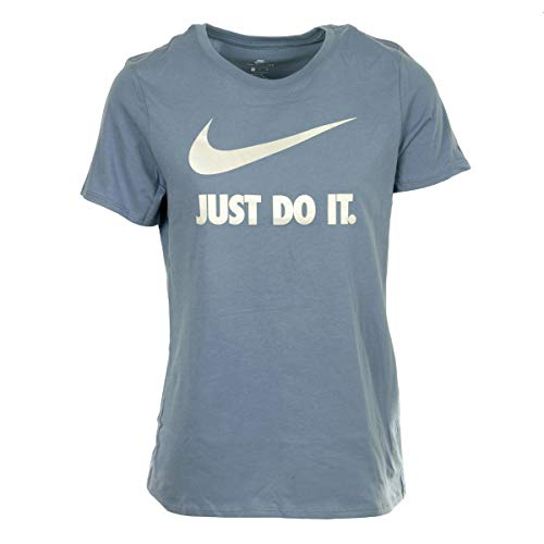 Nike Herren Crew JDI Swoosh HBR T-Shirt, Grau (ashen slate/White), XS (Swoosh Crew Shirt)