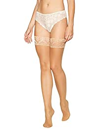 03b55371f5ba1 J by Jasper Conran Womens Natural Sheer Lace Top 10 Denier Hold-Ups Nude