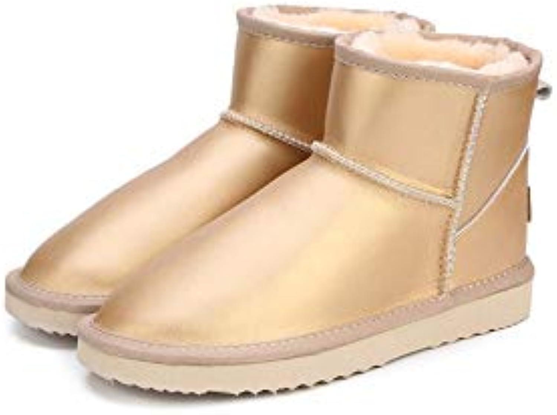 QBSOE Stivali Stivali Stivali da Neve Stivali Invernali Impermeabili Stivali Caldi Donna Stivali Invernali da Donna Scarpe da... | Esecuzione squisita  | Uomo/Donne Scarpa  e2a744