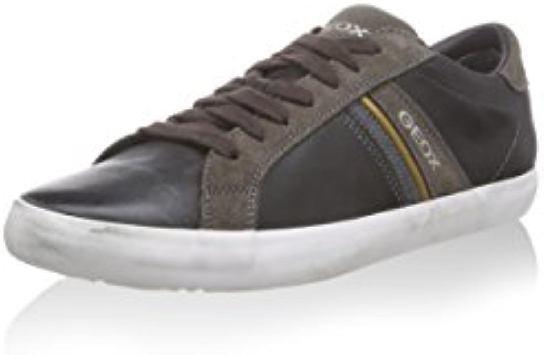 Geox scarpe da ginnastica ginnastica ginnastica U Smart Nero Fango EU 43   Alta qualità e basso sforzo  1fc2b3