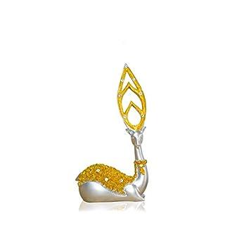 XIAOPINGGUO Home Wohnzimmer Dekorationen Hirsch Ornamente Weinschrank Hochzeitsgeschenk, Links Hirsch Siehe Details