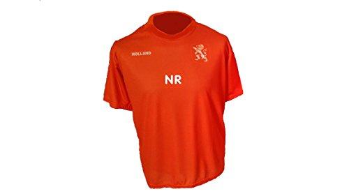 Holland Niederlande Trikot mit Wunschname Nummer Kinder Größe 152