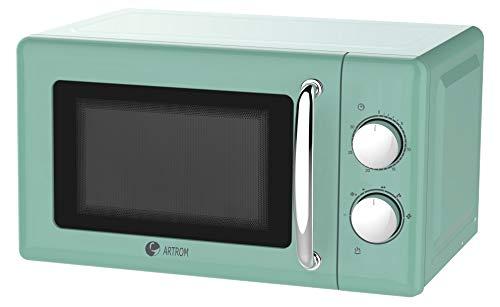 Microondas vintage básico colores pastel Verde menta