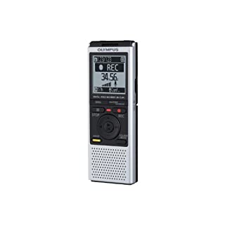 Olympus VN-732PC Digital Voice Recorder with 4GB Flash Memory, WMA, MP3 - Silver