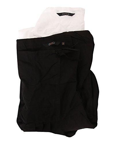 eSTYLe Black N' White Combo Patiala Set(Free Size)