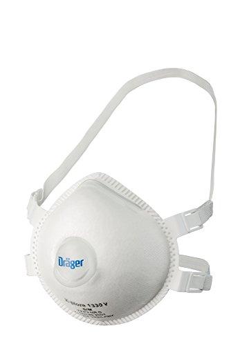 Masque avec filtre Dräger X-Plore 1330 FFP3 V M/L 5 PC. Pack