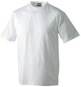 Kids Basic T-Shirt, Größe:L (134/140);Farbe:White (T-shirt James Erwachsenen)