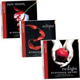 Stephenie Meyer audio Collection, Twilight Saga Audio Set : Twilight/New Moon/Eclipse CD Pck
