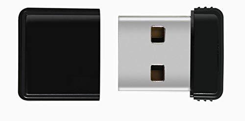 USB-Stick Flash Drive Mini-Usb2.0U-Diskette 8/16/32 / 64Gb 17 * 14 * 5 Mm HochgeschwindigkeitsüBertragung Klein Und Tragbar Computer Auto Mit Stereoanlage (64GB)