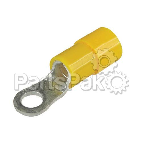SEACHOICE Nylon Isolierte Ring Terminal, 12-10Gauge 100/Pack -
