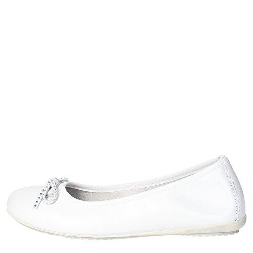 Ciao Bimbi 3102.06 Ballerina Bambina Pelle Bianco Bianco 28